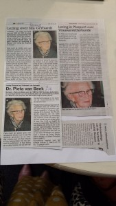 news on the lecture on Ida Gerhardt