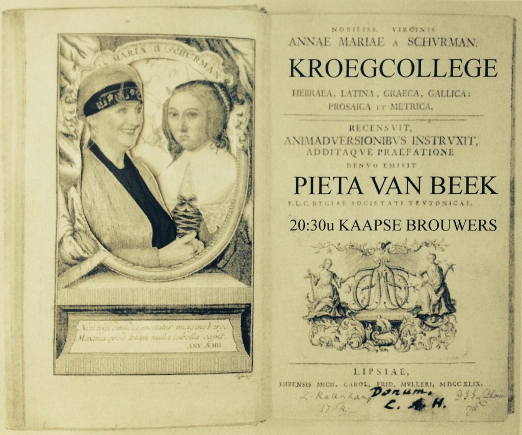 20 mei 2015 half negen p.m.  Kaapse Brouwers  Veerlaan 19 D Rotterdam