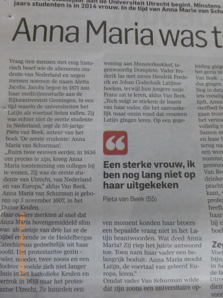Interview Algemeen Dagblad II
