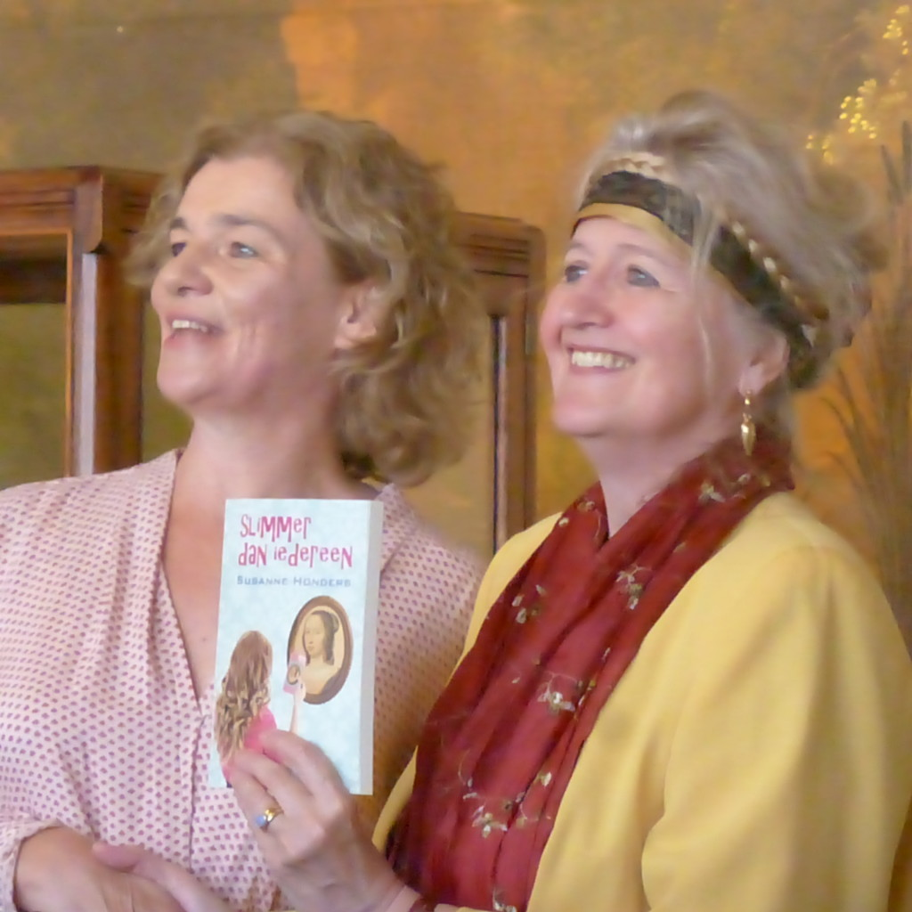 launch of Slimmer dan iedereen, youth novel of Anna Maria van Schurman