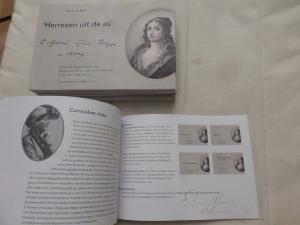 Verbrande lofgeschriften van Rotger zum Bergen ter ere van Anna Maria van Schurman
