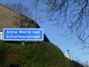 Anna Maria van Schurmansingel in Franeker