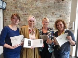 Dedication of Ex Libris  to the 3 Ladies of Musuem Martena